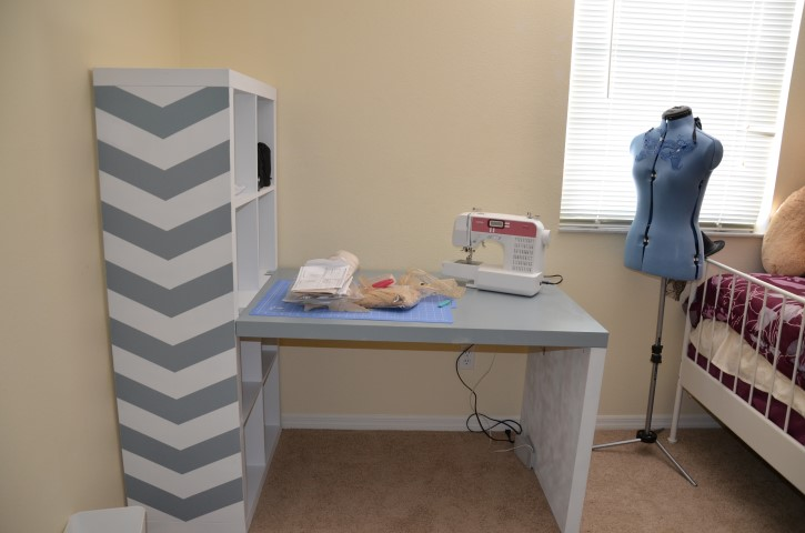 DIY Project- Painting Ikea Desk