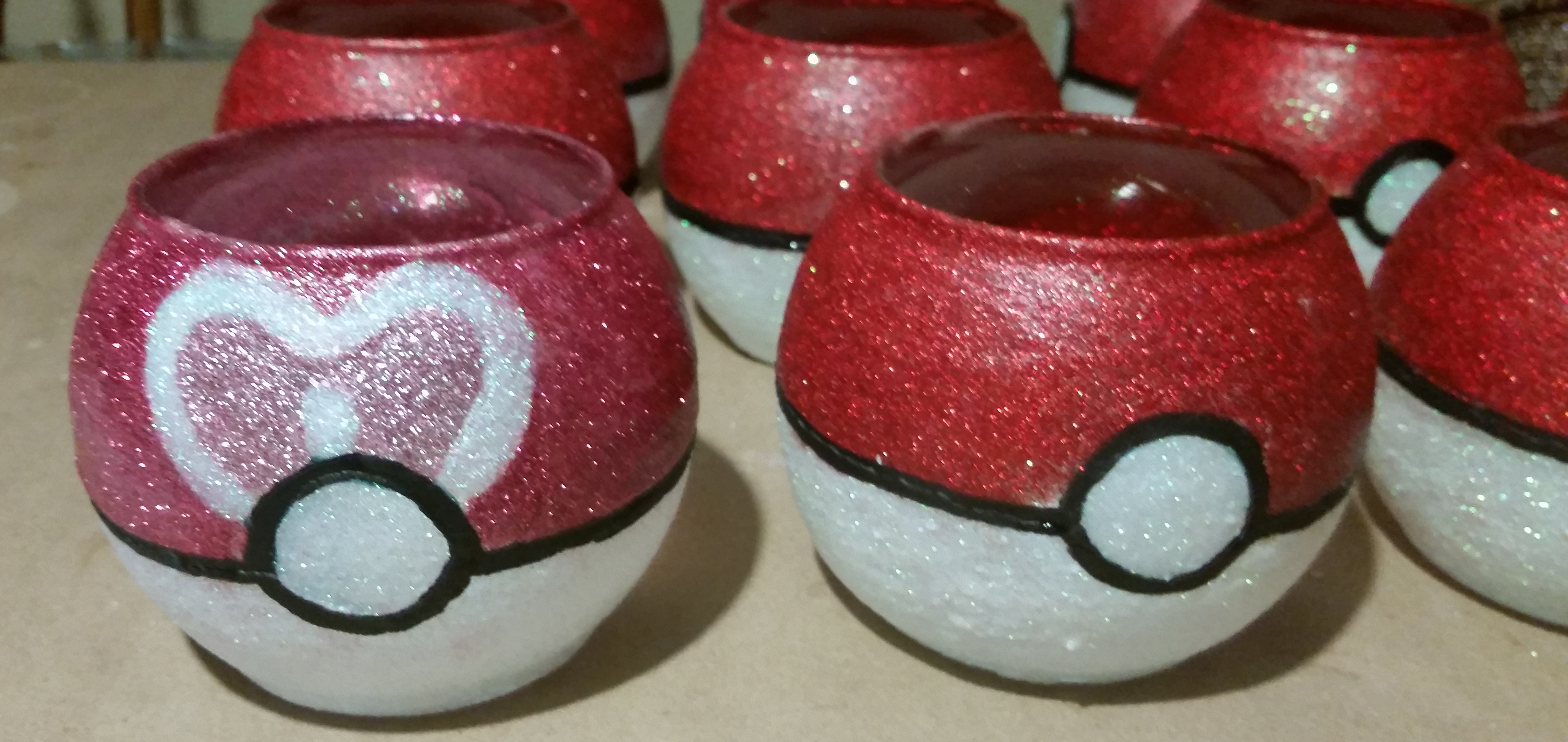 Poké Ball Centerpieces