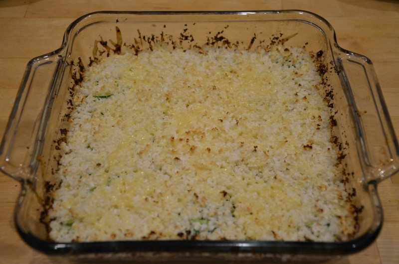 Zucchini and Cauliflower Bake