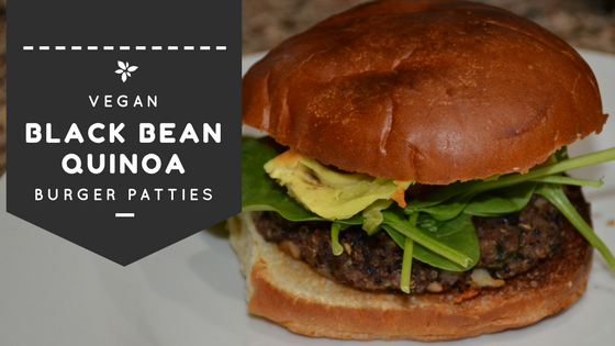 Make Ahead: Vegan Black Bean Quinoa Burger Patties